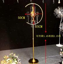 4pcsNew Quanzhang Road Bringing in Wedding and Celebration Props New Crystal Chandelier