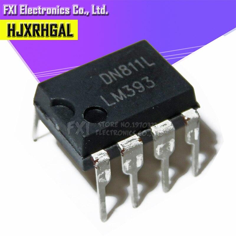 10PCS LM393P LM393 DIP8 DIP LM393N 393 New Original
