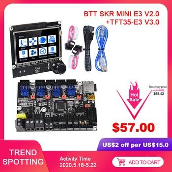 BIGTREETECH SKR MINI E3 V2.0 + TFT35-E3 V3.0 Control Board TMC2209 UART Impresora 3D Printer Parts CR10 ender 3 5 Touch Screen