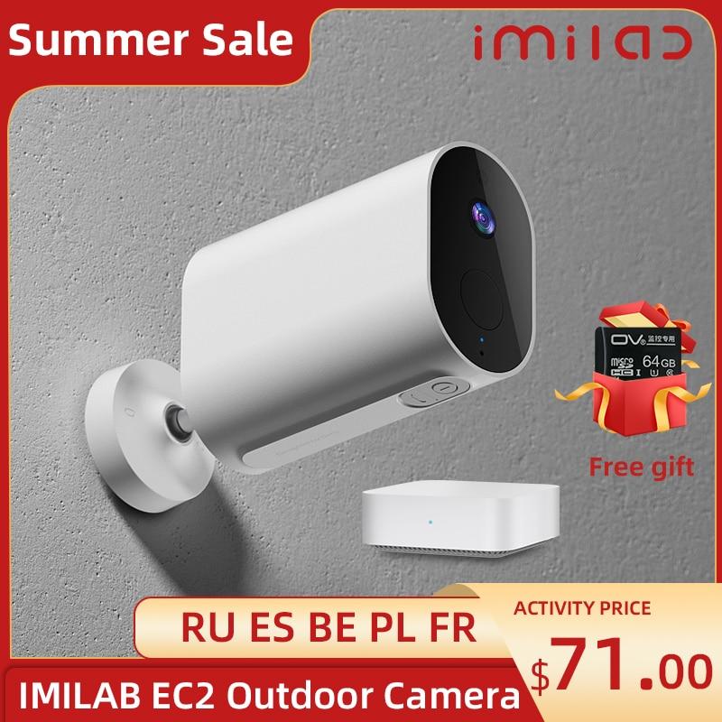 IMILAB EC2 Camera Home Cctv Camera 1080P HD wifi Cameras Outdoor Wireless Smart Home Ip Camera Night Vision Surveillance Camera