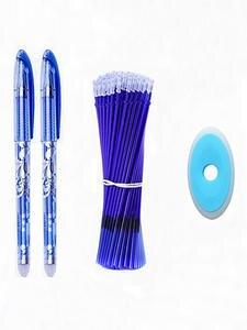 Erasable-Pen-Set Ink Office-Stationery-Supplies Writing-Gel-Pens Black-Color School