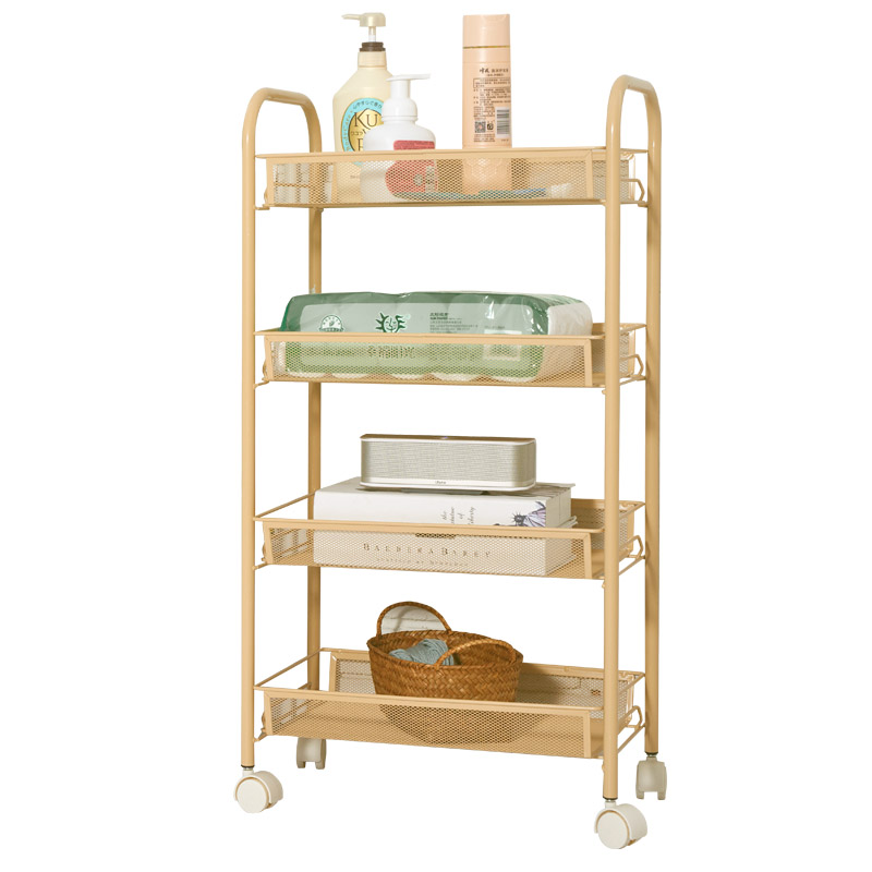 Beauty Trolley Three-layer Beauty Salons Trolley Fire Pot Tattoo Nail Tool Cart Rack