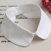 Faux Col blanc amovible pour femme, chemise, pull, décor, collection automne hiver 2020