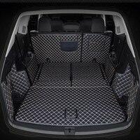 Beste qualität! Vollen satz auto stamm matten für Volkswagen Atlas 7 sitze 2019 wasserdichte boot teppiche cargo-liner matten für Atlas 2020