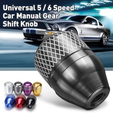 цена на JDM Style Aluminum Gear Shift Knob  Shifter Lever Knob Manual Transmission Fit For Honda CIVIC