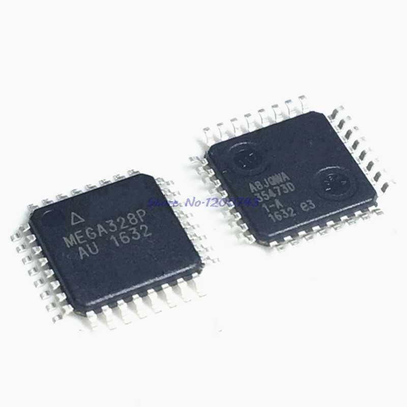 1 ชิ้น/ล็อต ATMEGA328P-AU ATMEGA328P-U ATMEGA328-AU ATMEGA328P MEGA328-AU QFP ใหม่ที่เป็นต้นฉบับในสต็อก