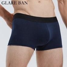 Calcon – Boxer en coton pour Homme, sous-vêtement Sexy, marque de luxe, Lot de caleçons