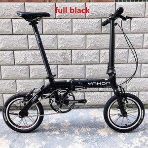 Image 3 - YNHON พับจักรยานอลูมิเนียมล้อแม็ก 412 14/16 นิ้วความเร็วสูงนอกสามความเร็วสูงเด็กจักรยานเด็ก MINI การปรับเปลี่ยน