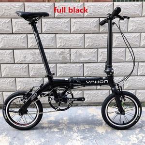 Image 3 - YNHON Folding Bike Aluminun Alloy 412 14/16 Inch Single speed Outside Three speed Kid Childrens Bicycle Mini Modification