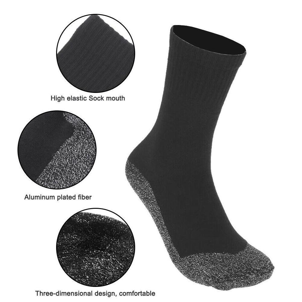1 Pairs Winter Thermal Socks Aluminized Fibers Thicken Super Soft Unique Ultimate Comfort Socks Keep Foot Warm