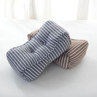 Multiuse Floor Chair Seat Cushion Rectangle Thick Waist Brace Support Cushion Pad Back Throw Pillow Sitting Pillow Decorative