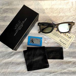 Image 4 - Gafas de sol polarizadas con diseño Original para hombre, lentes de sol con atenuación LCD, ajustables mannualmente, Estilo Vintage, 2019