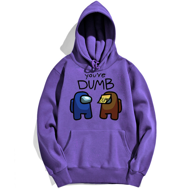 YOU'RE DUMB AMONG US THEMED HOODIE (14 VARIAN)