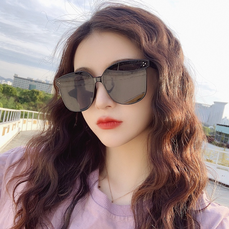 Polarized Sunglasses Men And Women 2019 New Style Korean-style Trend Online Celebrity Street Snap Sunglasses UV-Protection Large