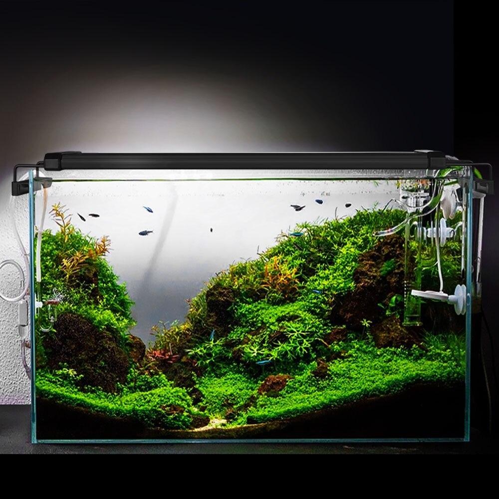 95-116cm LED pour Aquarium éclairage plante aquatique éclairage Aquarium lumière lampe avec supports extensibles convient pour Aquarium - 6