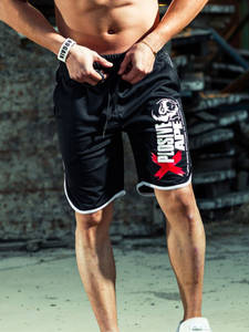 Men Shorts Trousers Sweatpants Jogger Gyms Bodybuilding Sporting Cotton Casual New-Fashion