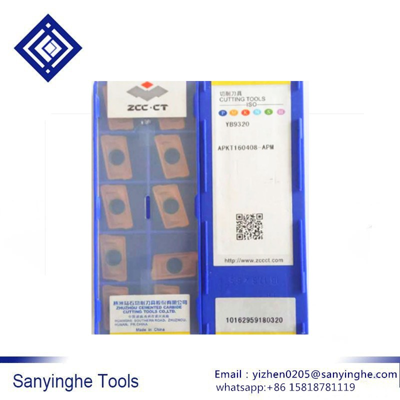 Original ZCCCT YB9320 APKT160408 APM/APKT160412 APM/APKT160416 APM cnc hartmetall fräsen einsätze schneiden werkzeuge ZCC. CT-in Fräser aus Werkzeug bei AliExpress - 11.11_Doppel-11Tag der Singles 1
