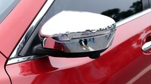 Side Wing Mirror Cover Overlay Trim 2014 2015 2016 2017 2018 Chrome Car Styling For Nissan Juke Accessories