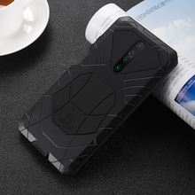 IMATCH Aluminum Metal Silicone Shockproof Case For Xiaomi Redmi Mi 10 Lite K30 K20 Pro Mi F1 9T Pro Dirt Shock Proof Cover Case