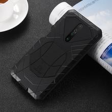 Imatch Aluminium Metal Silicone Shockproof Case Voor Xiaomi Redmi Mi 10 Lite K30 K20 Pro Mi F1 9T Pro vuil Shock Proof Cover Case