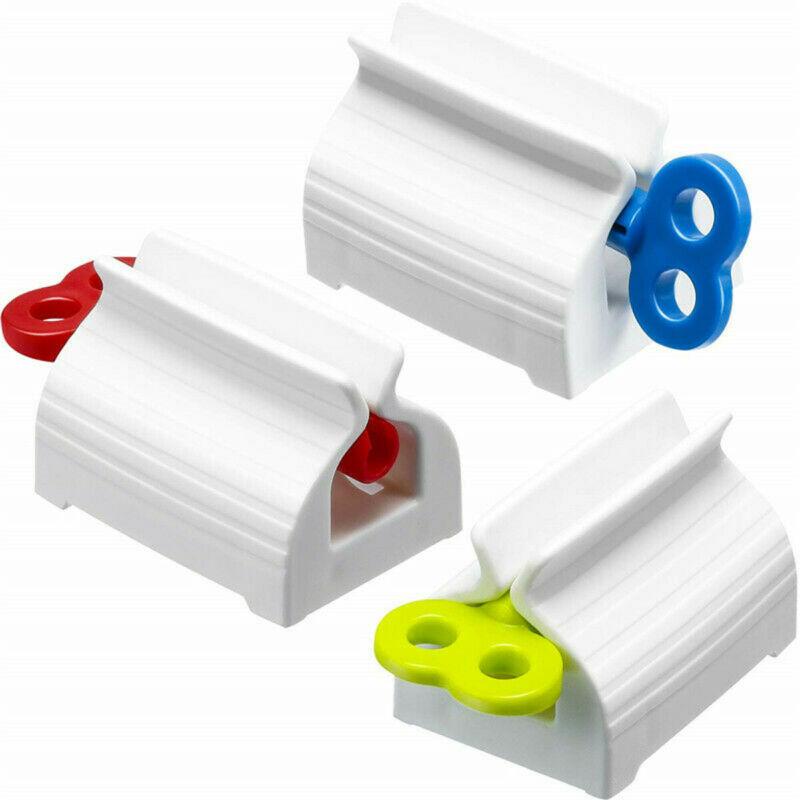 2020 Functional Bathroom Plastic Cream Tube Squeezing Dispenser Rolling Tube Squeezer Tooth Paste Squeezer Toothpaste Dispenser