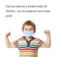 DIY Kid Maske Gesicht Masken Mit Elastische Ohrbügel, 3-Ply Dicker Atmungsaktiv Und Komfortabel Sicherheit Masken Für Home Office Verwenden Für Chi