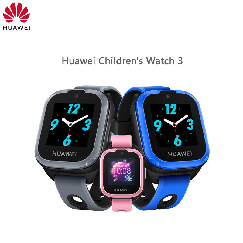 Original HUAWEI Kids Smart Watch 3 4G Colorful Touch Android IOS SOS Call Voice Assistant - 2
