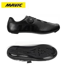 Велосипедная обувь MAVIC, Мужская обувь для спорта на открытом воздухе, велосипедная обувь, самоблокирующаяся профессиональная обувь для гон...