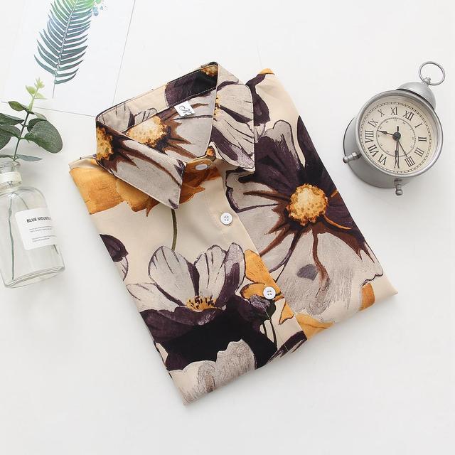 Hawaii floral shirts Long Sleeve  1