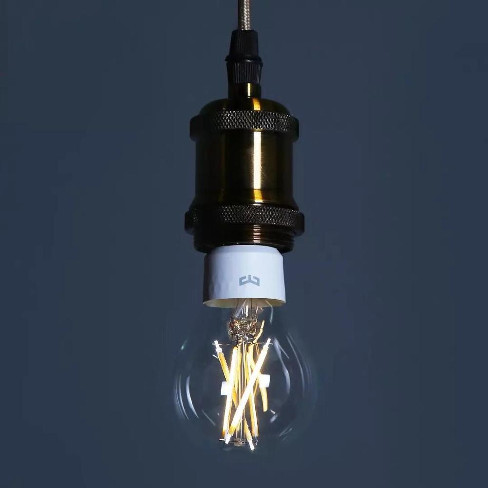lowest price yeelight smart LED Filament bulb 200V 700 lumens 6W Lemon Smart bulb Work with Apple homekit