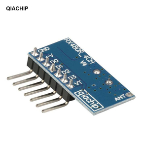 Image 4 - QIACHIP 433Mhz RF Receiver Learning Code Decoder Module 433 mhz Wireless 4 CH output For Remote Controls 1527 2262 encoding