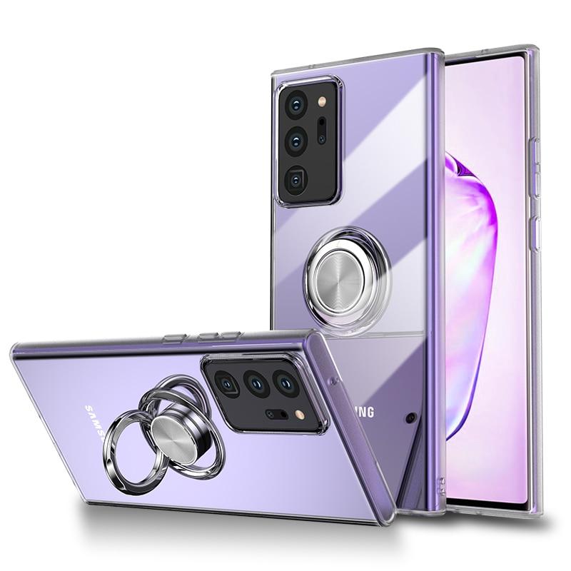 Finger Holder Ring Phone Case For Huawei Honor Nova Mate P30 P20 3E 4 4E 20 20X V20 30 P40 Pro Lite Car Magnetic Bracket Cover|Fitted Cases| - AliExpress