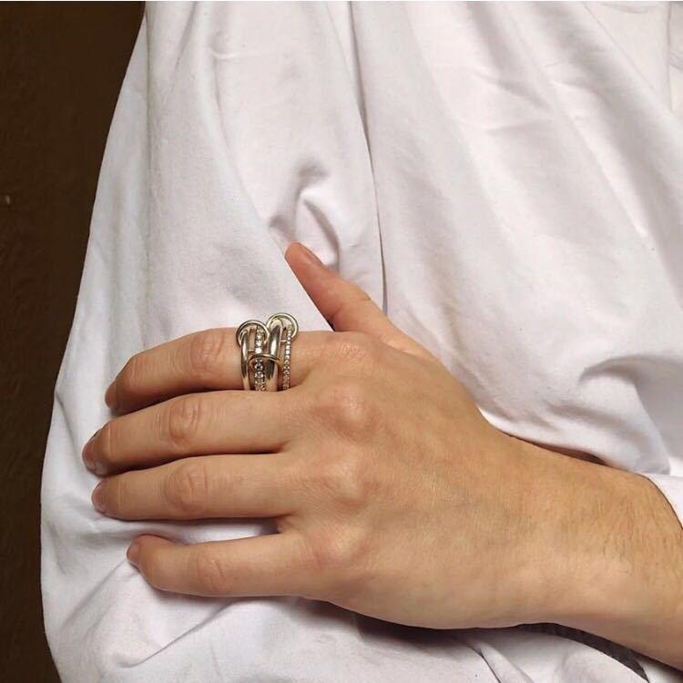 19 nouveaux anneaux Simple mode européenne et américaine bijoux dorés à la mode bague imbriquée Style féminin
