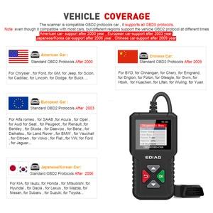 Image 5 - Ediag YA101 OBD2車診断ツールobdii自動スキャナーチェックエンジンライトグラフデータストリームpk ELM327 CR3001 AS100コードリーダー