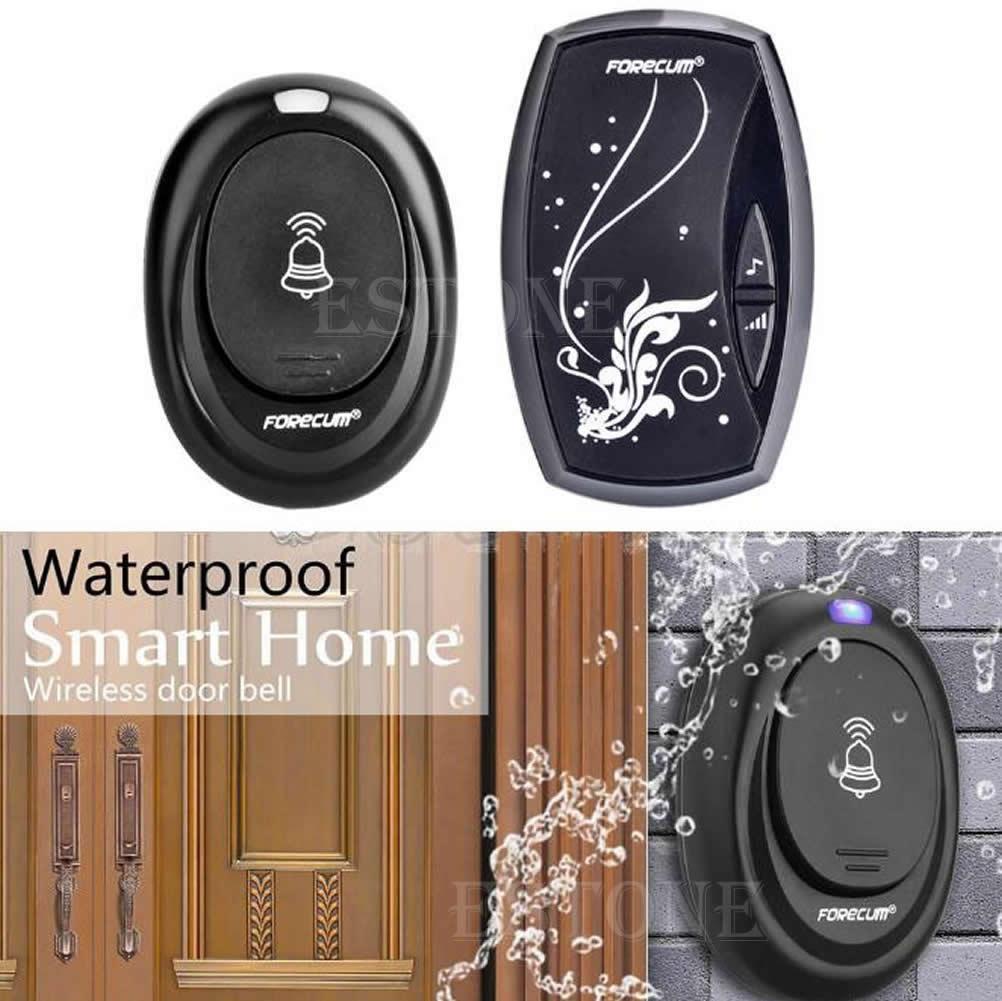 New 36 Songs Wireless Receiver Remote Control 100M Waterproof Doorbell Door Bell DXAC
