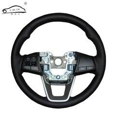 الجلود الاصطناعية سيارة غطاء عجلة القيادة لشركة هيونداي ix25 2014 2015 2016 Creta 2016 2017/مخصص مخصصة المقود