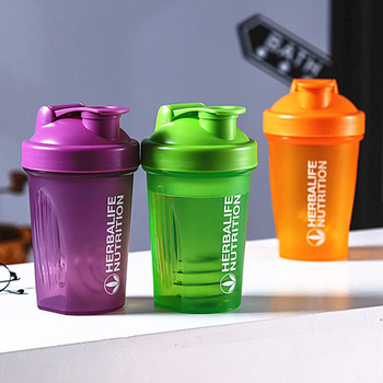 Sport Shaker Bottle 400Ml Whey Protein Powder Mixing Bottle Sport Fitness Gym Shaker Outdoor Portable Plastic Drink My Bottle shaker whey protein powder shaker bottle mixing bottle sports water bottle nutrition shaker protein fitness drinkware cup