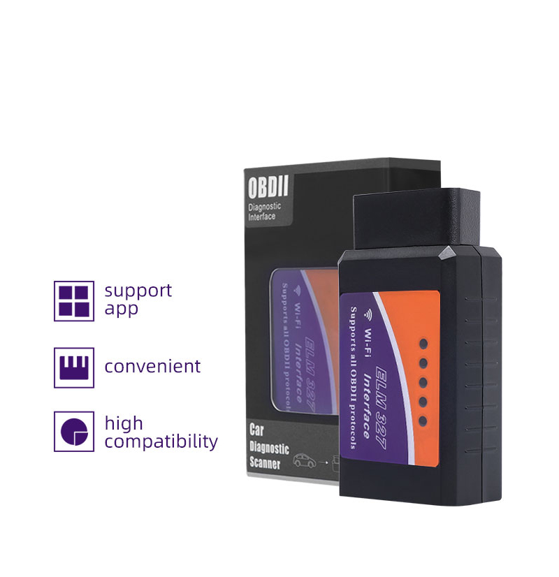 Auto Scanner ELM327 Bluetooth/WIFI V 1,5 OBDII ULME 327 BT/WI-FI 1,5 HHOBD HH OBD ELM327 OBD2 bluetooth V1.5/1,5 ULME 327 Schalter Auf