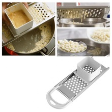 Дозатор для макаронных изделий из нержавеющей стали машина ручная яичная лапша Spaetzle чайник лезвия пельменный аппарат паста кухонные принадлежности