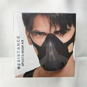 Image 3 - Sport treningowy maska 4.0 styl czarna duża wysokość szkolenia wyposażony jest w 25 poziomów oporu regulowana
