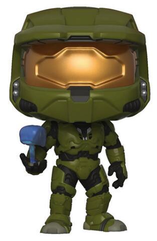 Original Halo Mast Chief With Cortana Vinyl Figure Dolls Toys