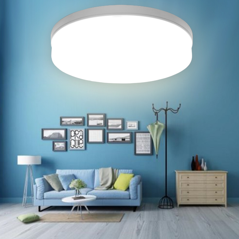LED Panel Lamp Ceiling Light 6W 9W 13W 18W 24W 36W 48W AC85-265V  Surface Round LED Mounted Modern Down Lighting For Home Lamp