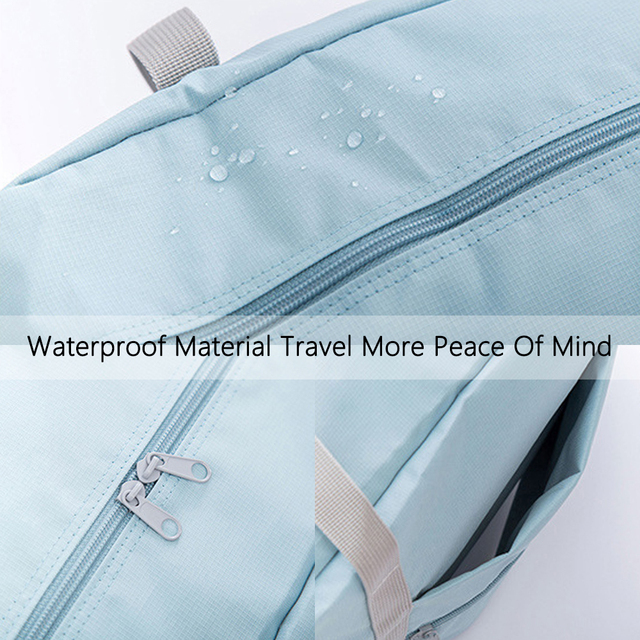 S.IKRR Nylon sac de voyage étanche unisexe pliable sac de sport organisateurs grande capacité Cubes demballage Portable grands sacs à bagages