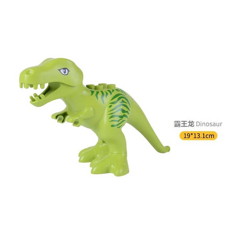 Duplo Blocchi di Dinosauro Jurassic Dinosauro Modello di Figura Building Blocks Animale Parte T-rex Triceratops Pteranodon Apatosaurus Modello