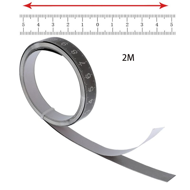 Auto-adesiva Fita Métrica com Pegajoso de Medição de Mesa de Apoio de Volta