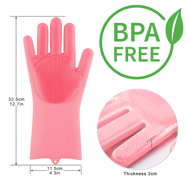 Silicone Dishwashing Glove 2