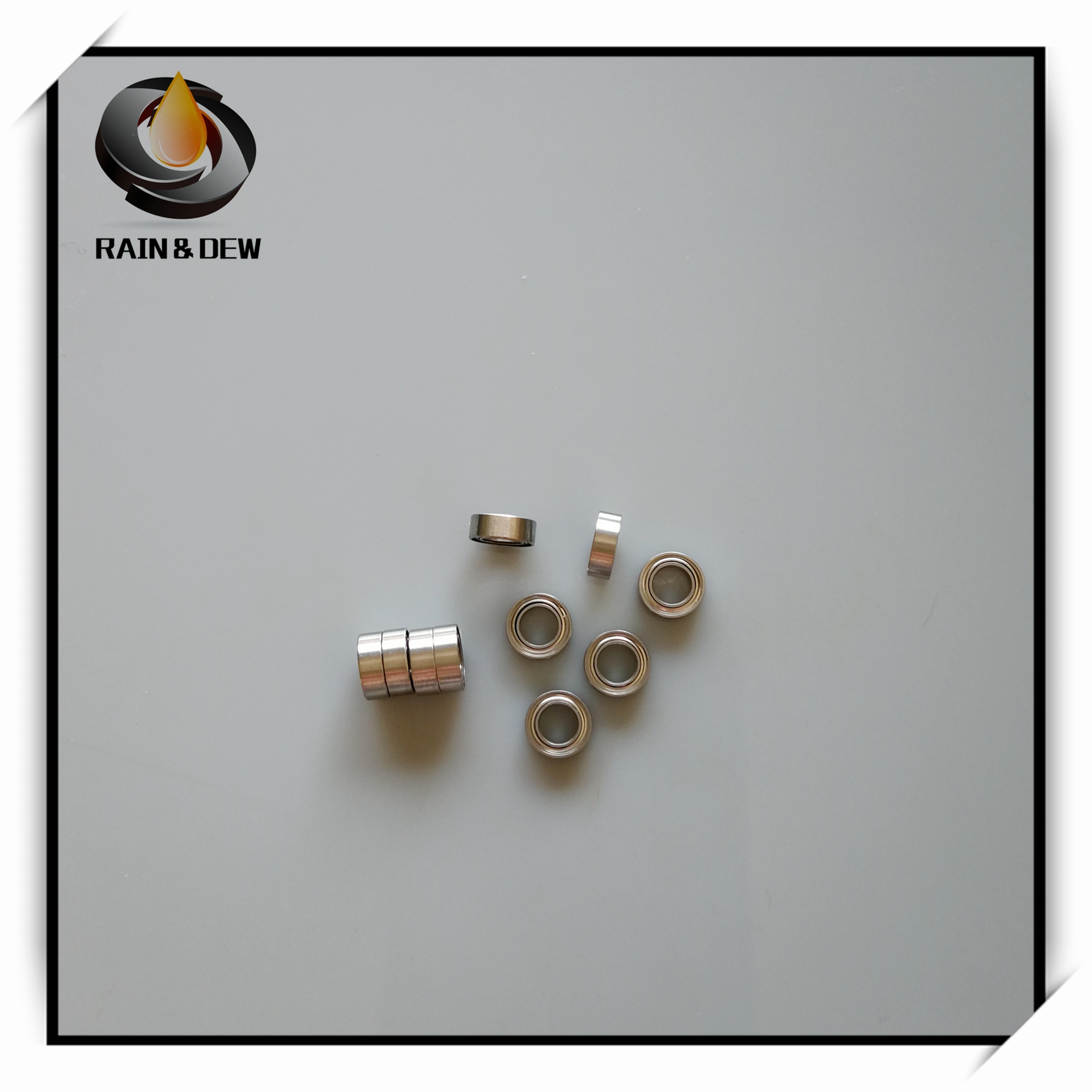 10Pcs SMR63ZZ Stainless Steel Ball Bearing ABEC-7  3*6*2.5 Mm Miniature MR63 ZZ Ball Bearings L630ZZ MR63Z