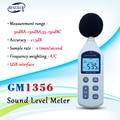 BENETECH GM1356 Digital Sound Level Meter 30 130dB LCD A/C SCHNELLE/LANGSAM dB screen USB + Software mit tragen Box|Schallpegelmesser|Werkzeug -