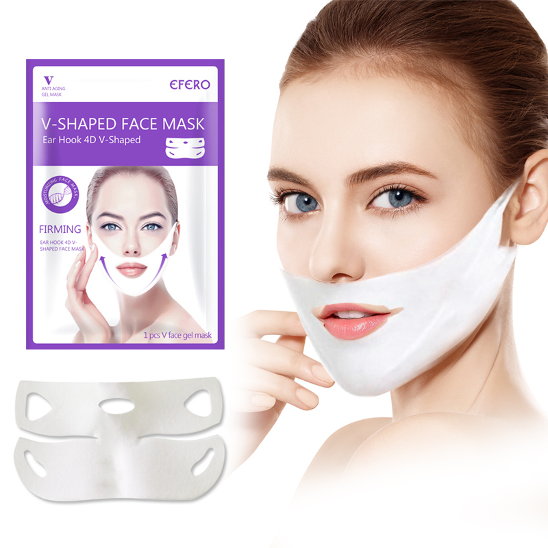 Women Lift Up V Face Chin Masks Lifting Firming Slimming Cheek Smooth Wrinkles Cream Face Neck Peel off Masks Bandage Face Mask-in Face Skin Care Tools from Beauty & Health