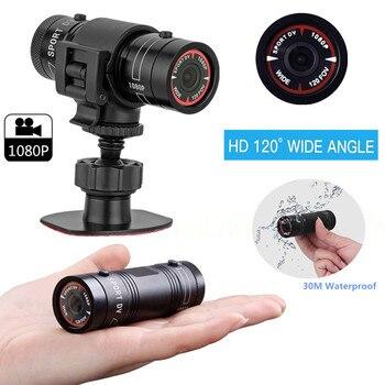 Mini Camcorder FHD 1080P Video Recorder Trail Hunting Camera Action Waterproof Cam HD Torch Gun Camera Outdoor Sports Helmet DVR
